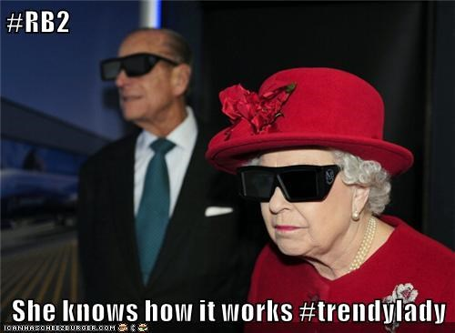 #RB2  She knows how it works #trendylady