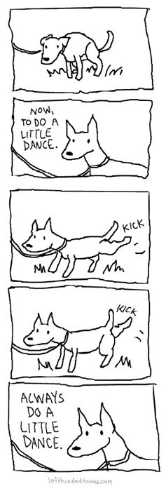 funny-web-comics-the-most-important-rule-for-being-a-dog