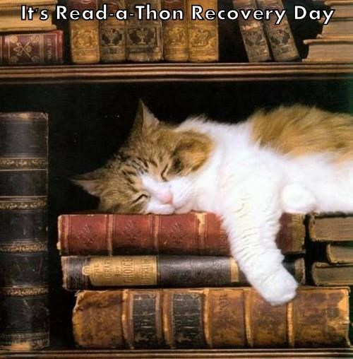 It's Read-a-Thon Recovery Day