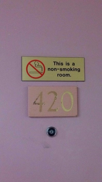 Blaze That Sign Down!