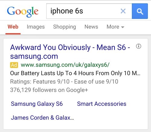 Very Clever, Samsung