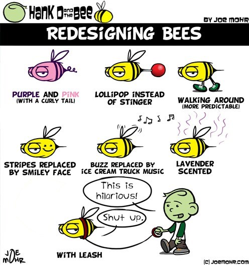 Redesigning Bees