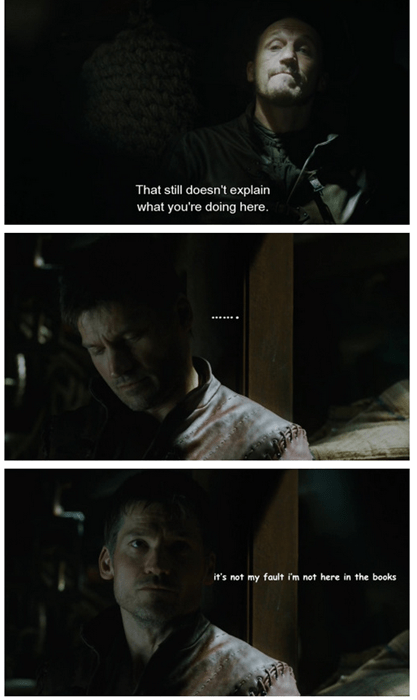 That's No Excuse, Jaime