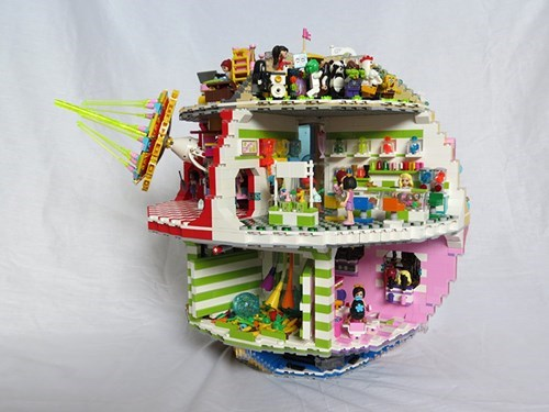 The Death Star Gets a Friendly LEGO Makeover