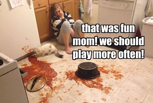 that was fun mom! we should play more often!