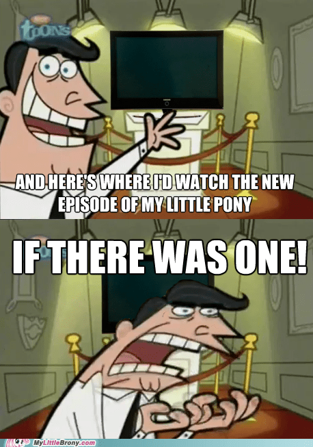 A Saturday Without Ponies