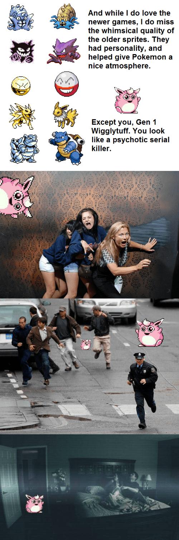 pokemon memes gen 1 wigglytuff scary sprite