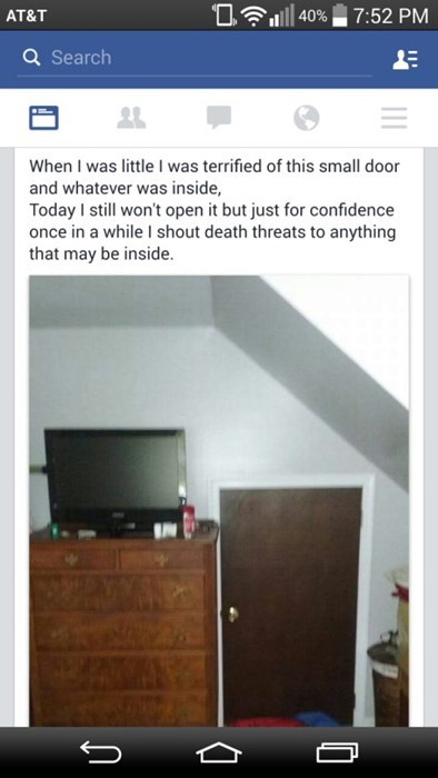 Maybe You Should Block It With Your Dresser Just to Be Safe