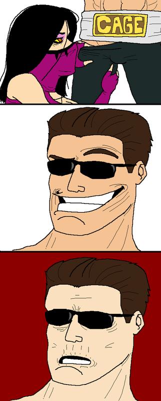 Mileena vs. Johnny Cage