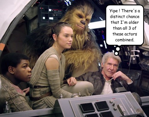 Grandpa Harrison rides again!