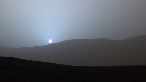 Photo of the Day: This is What a Sunset Looks Like on Mars