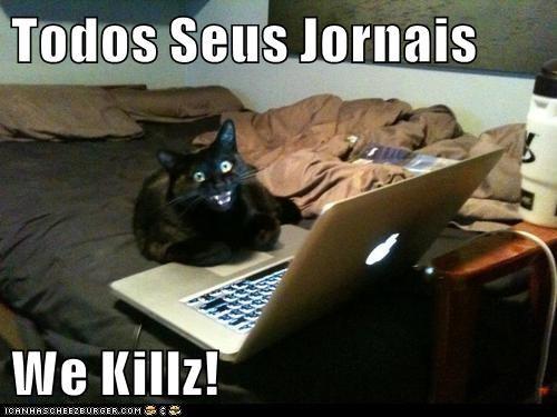 Todos Seus Jornais  We Killz!