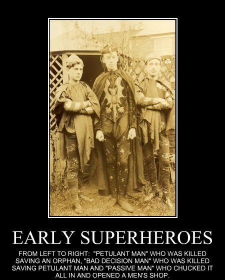 EARLY SUPERHEROES