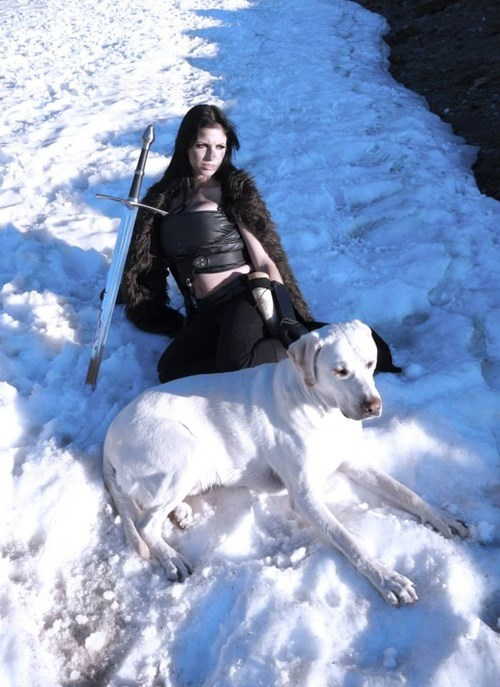 Jon Snow,cosplay,Game of Thrones,rule 63