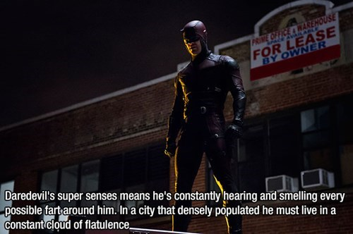 Being Daredevil Is a Gas