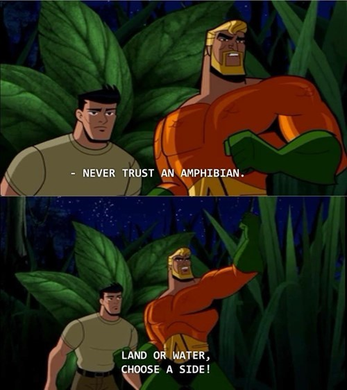 Aquaman Hates Frogs