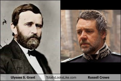 Ulysses S. Grant Totally Looks Like Russell Crowe