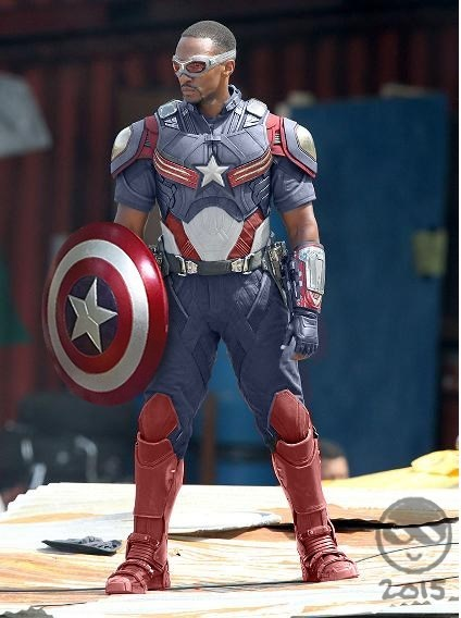 What If Anthony Mackie's Sam Wilson Became Captain America?