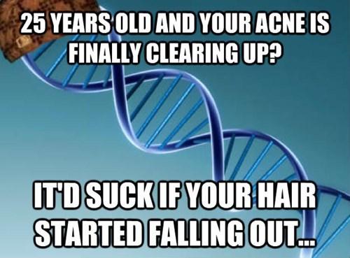 Balding? Really? REALLY?