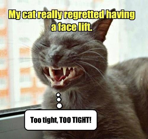 NOT a happy patient.