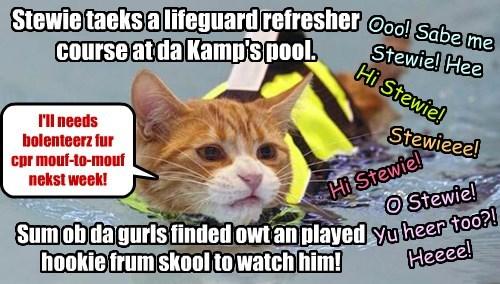 KKPS Kamp Lifeguard Stewie