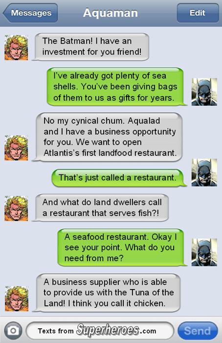 Batman's Bringing Burgers to Atlantis
