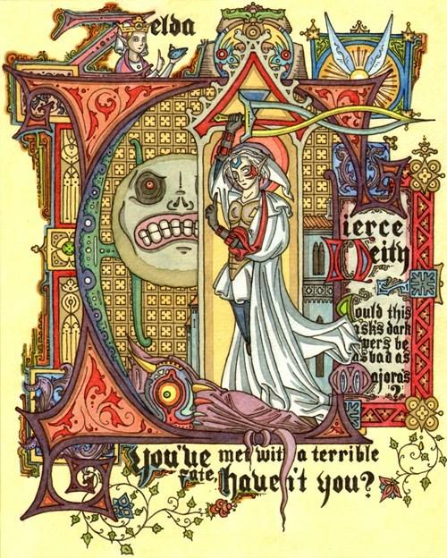 Ye Olde Majora's Mask Art
