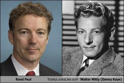 Rand Paul Totally Looks Like Walter Mitty (Danny Kaye)