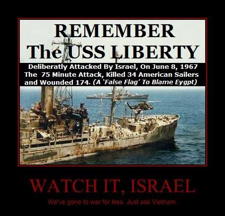 WATCH IT, ISRAEL