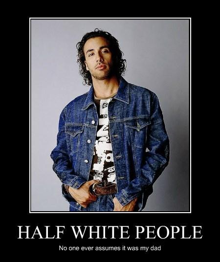 HALF WHITE PEOPLE