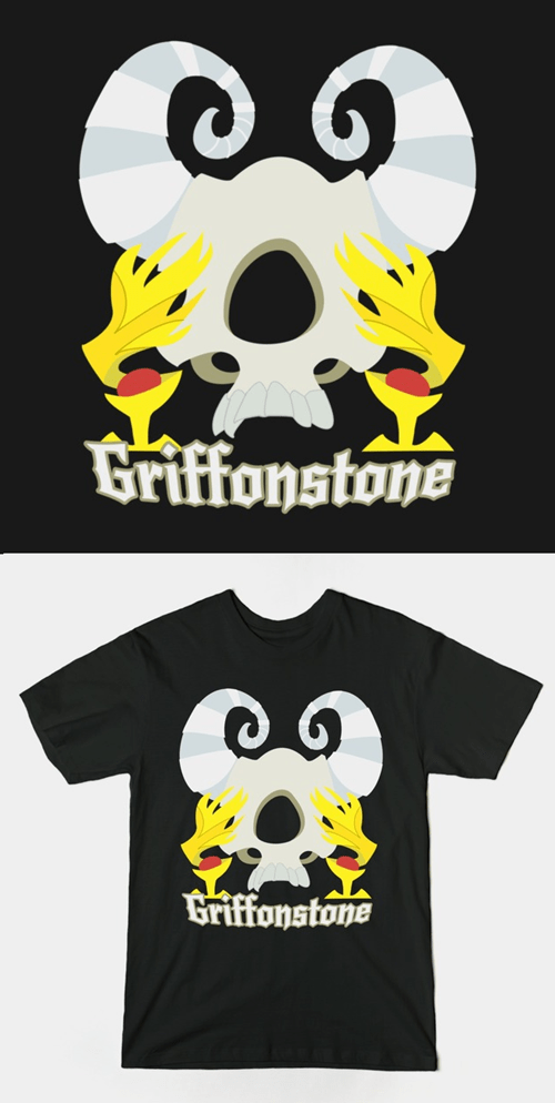 The True Treasure of Griffonstone is this Awesome T-Shirt!
