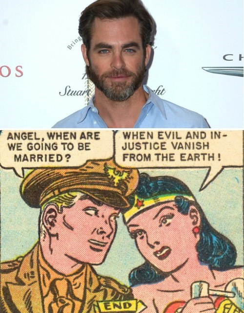 Chris Pine Reportedly Joining The DC Movie Universe As Romantic Lead, Steve Trevor