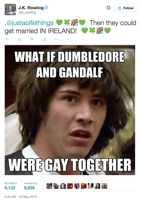 geek memes jk rowling twitter ireland gay marriage westboro baptist church