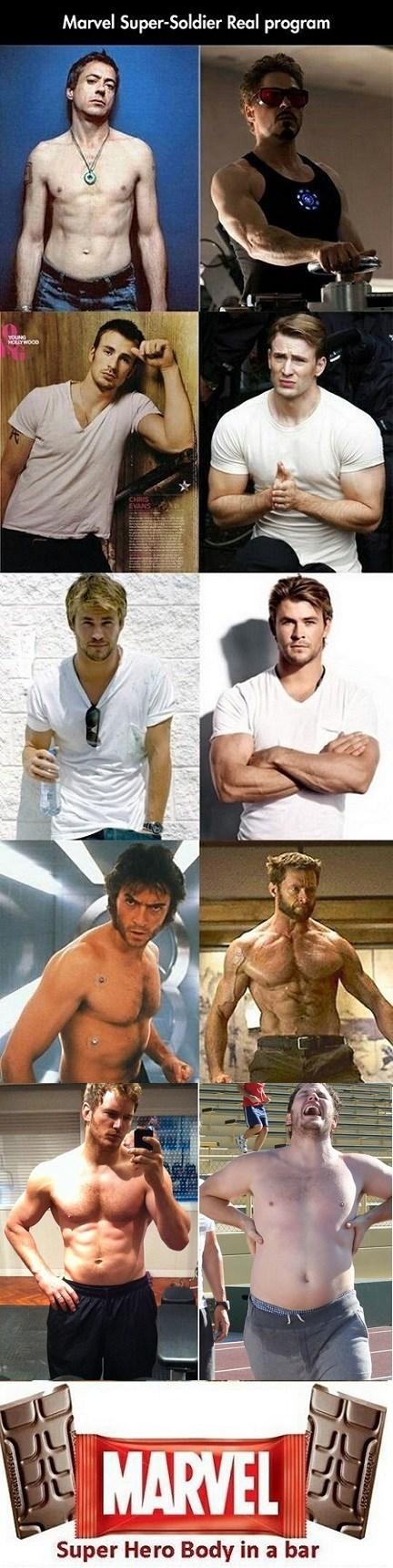 Marvel Really Has Captain America's Super Serum