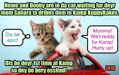 Nemo and Dooby's 1st Time at Kamp KuppyKakes.