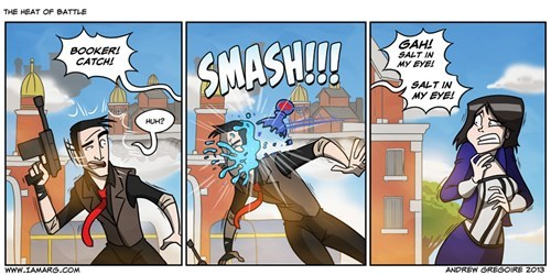 booker dewitt,bioshock infinite,booker catch,bioshock,web comics