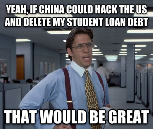 Seeing That China Hacked the U.S.