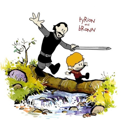 Calvin and Hobbes Had Nothing On This Pair