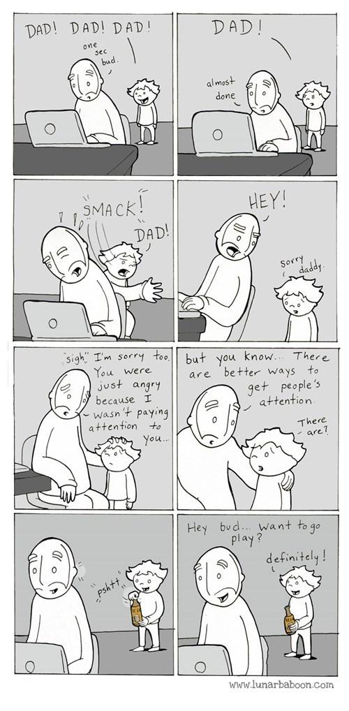 drinking,parenting,bud,web comics