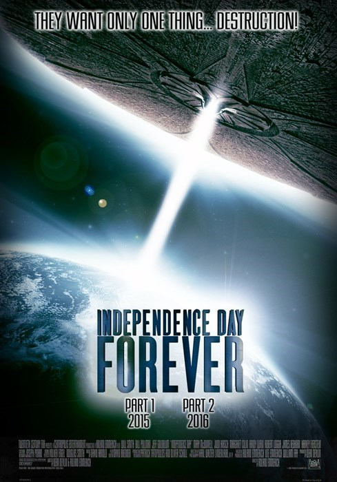 A synopsis finally comes for Independence Day