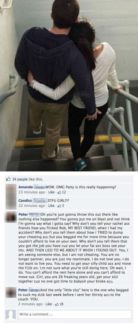 social media fails this couple airs their breakup drama on facebook