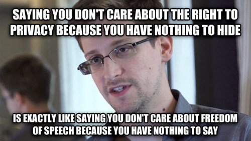 Edward Snowden Just Roasted All of You