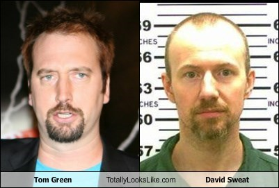 Tom Green Totally Looks Like David Sweat