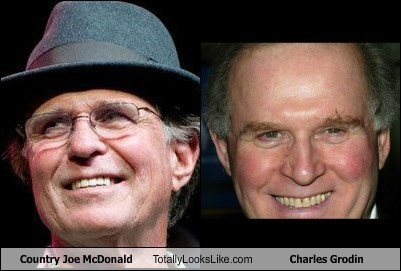 Country Joe McDonald Totally Looks Like Charles Grodin