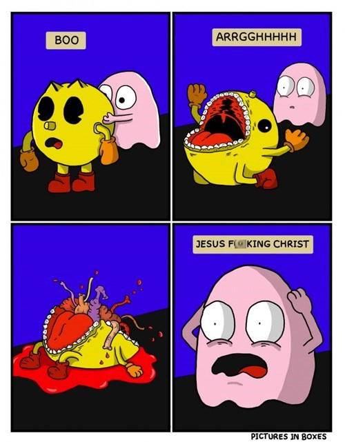 The Dark Reality of Pac Man