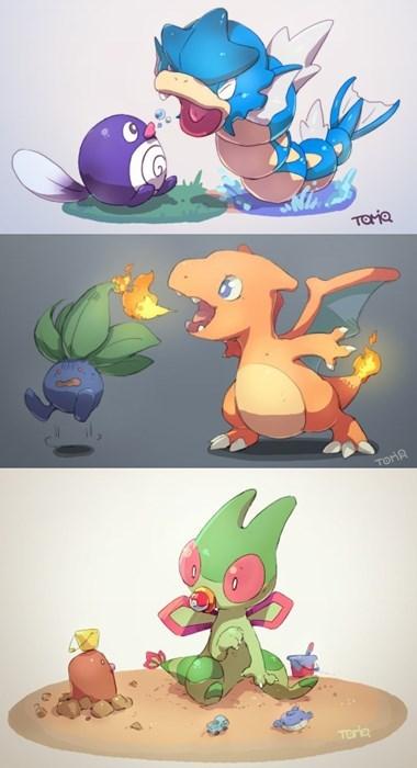 Adorable Baby Pokémon