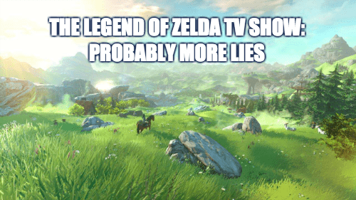 video game news legend of zelda amazon tv show rumor