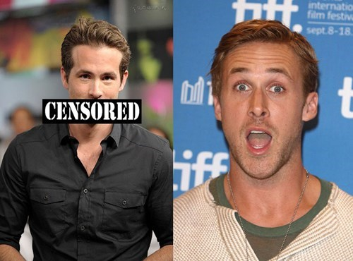 The difference between ryan reynolds and ryan gosling.