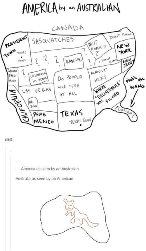 Americans vs. Australians