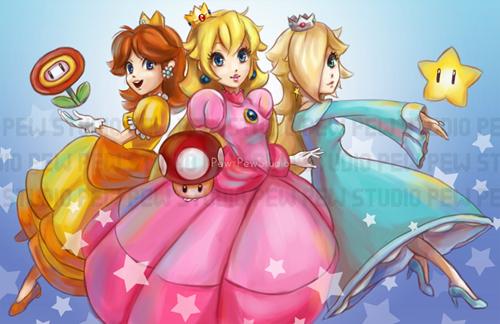 Princess' Power-Up